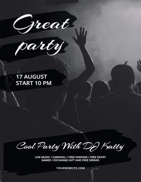 free-party-flyer-template