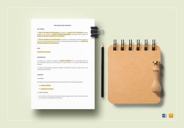 freelance-design-contract-template
