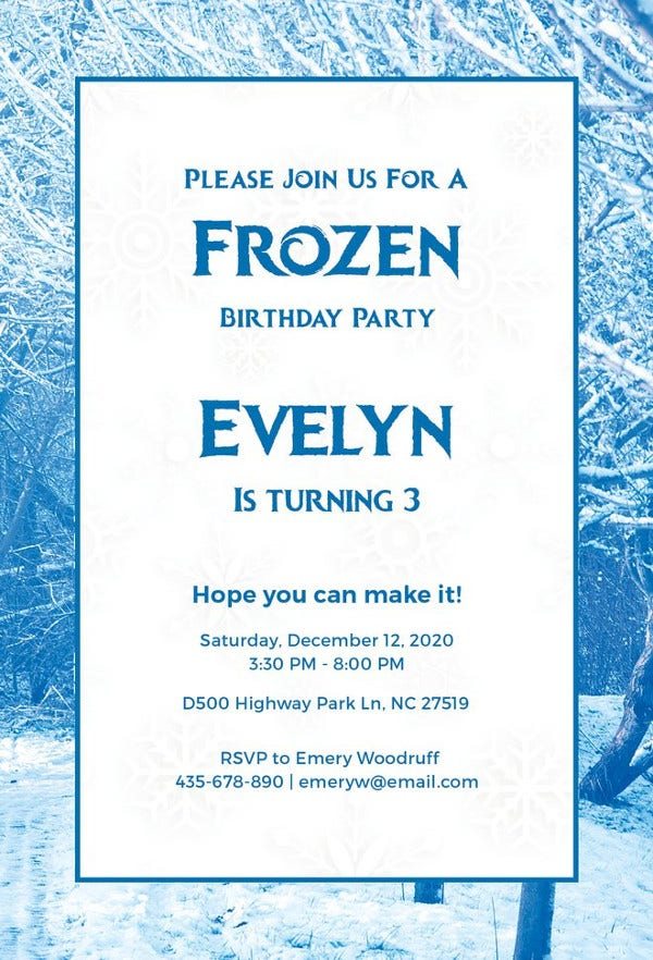 frozen-invitation-template