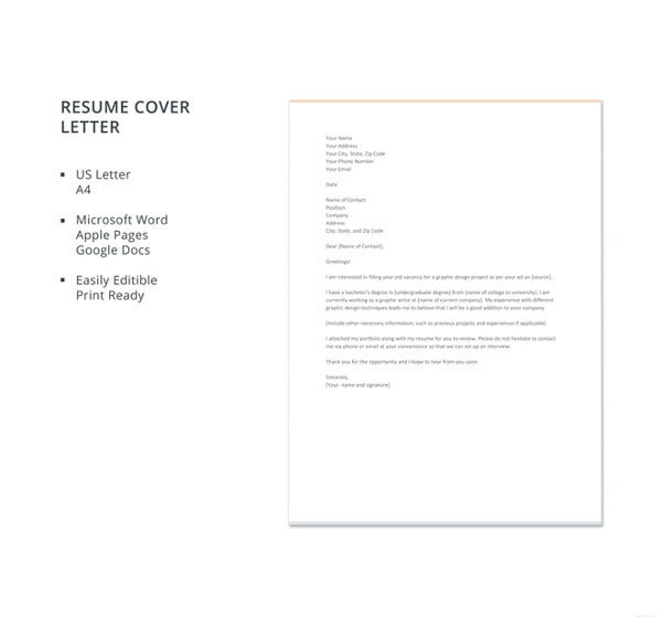 graphic-design-resume-cover-letter-template