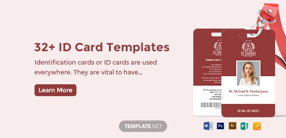32 Id Card Templates Word Psd Ai Pages Free Premium Templates