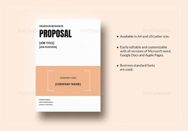 ms word business proposal template