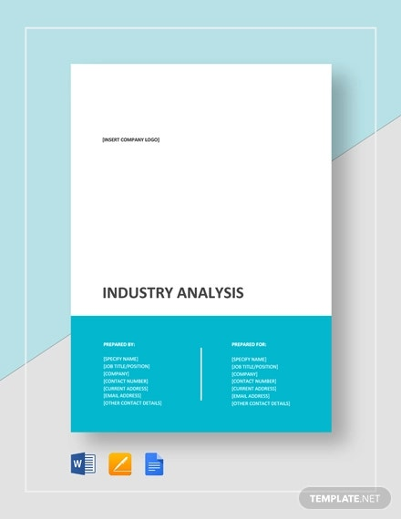 industry analysis template2