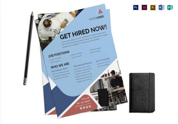 13 Recruitment Flyers Psd Ai Eps Free Premium Templates