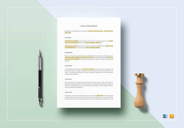 lease agreement template1