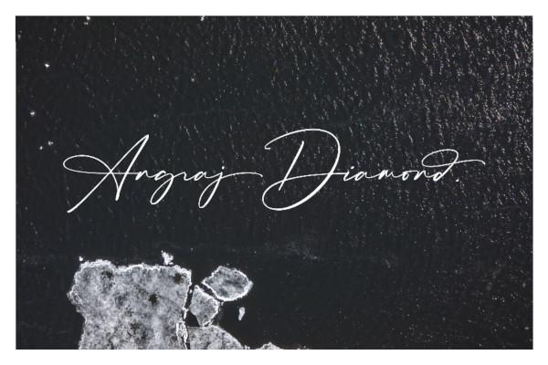 luxury signature font