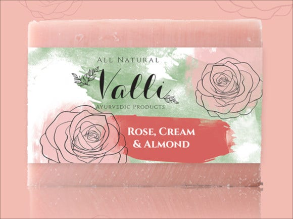 luxury soap label
