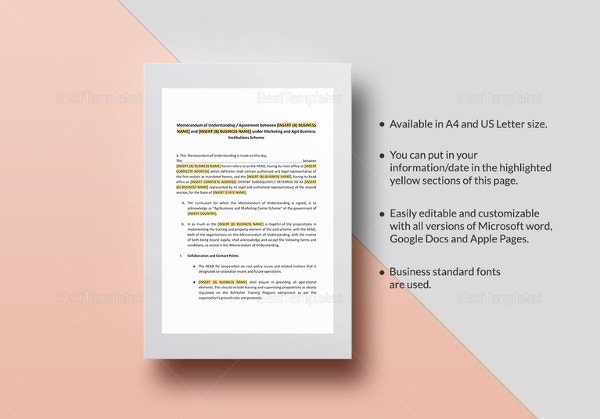 memorandum-of-understanding-format-for-business-template