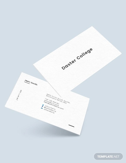 44 Printable Business Card Templates Word Publisher Psd Free