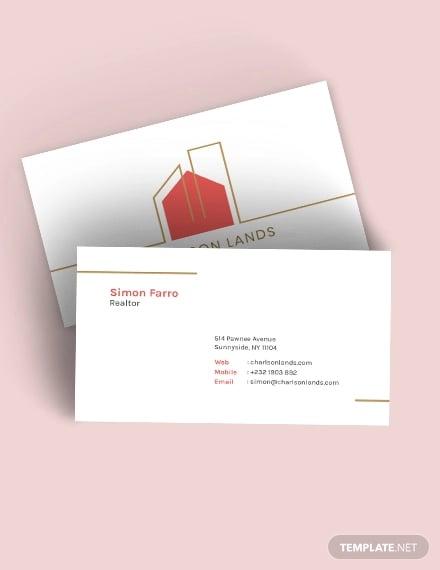 modern realtor business card1