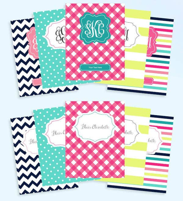 monogram-binder-cover-templates