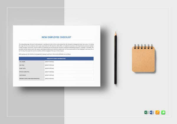 new-employee-checklist-template