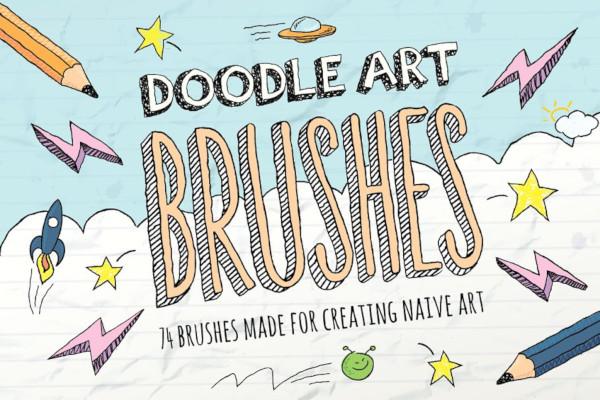 photoshop doodle brushes