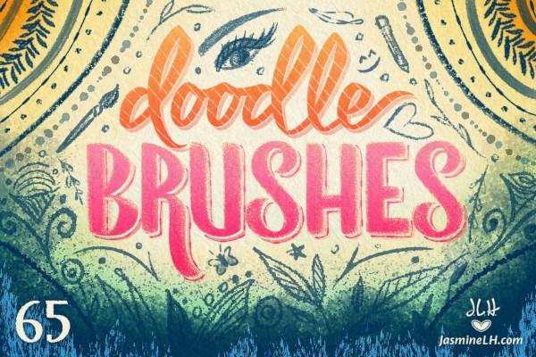 photoshop doodle brushes 1