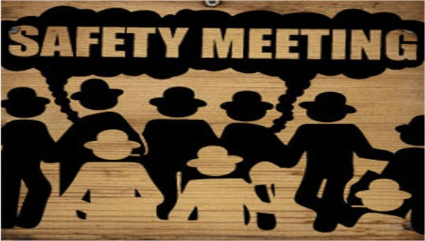 safetymeetingminutestemplates