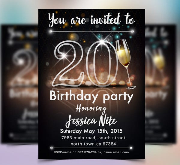 save the date birthday invitation template1