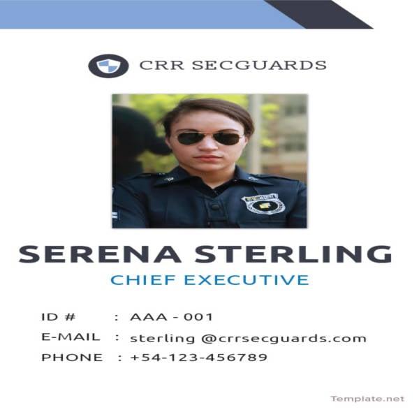 25  id card templates