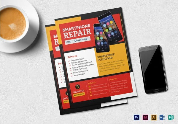 smartphone-repair-flyer-template