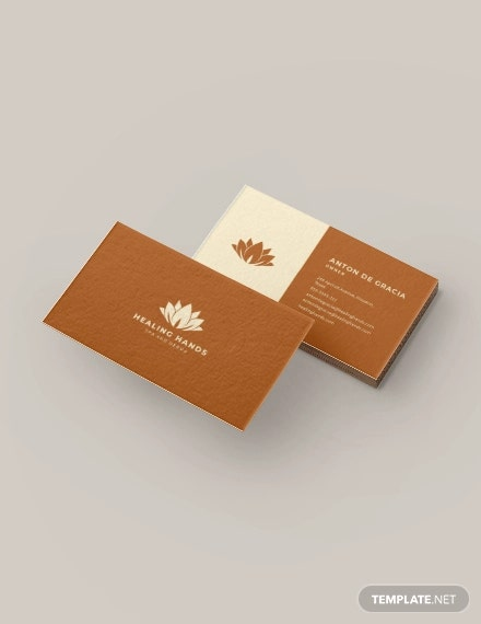 10+ Massage Business Card Templates In Word, Pages, PSD Free