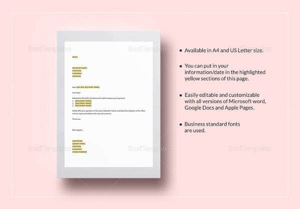 transmittal letter 12 free word pdf documents download free