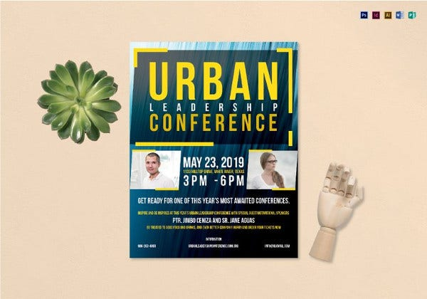 urban-conference-flyer-template