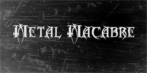 vintage-horror-font