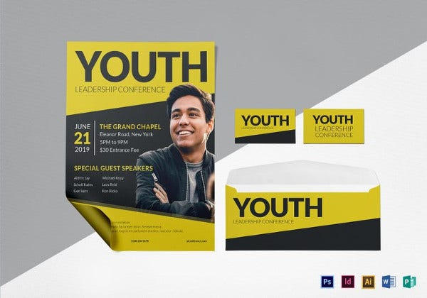 young-leadership-conference-flyer-template