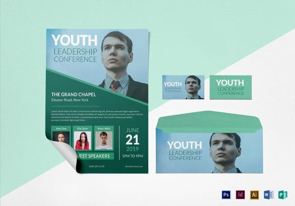 youth-leadership-conference-flyer-template
