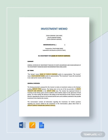 Investment memorandum for it forex fancy bot