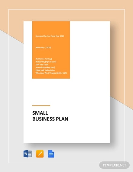 Small Business Plan Template - 18+ Word, Excel PDF, Google Docs