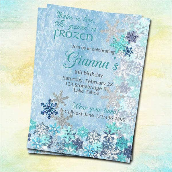 diy-frozen-birthday-invitation