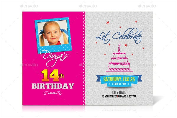 birthday party invitation card5