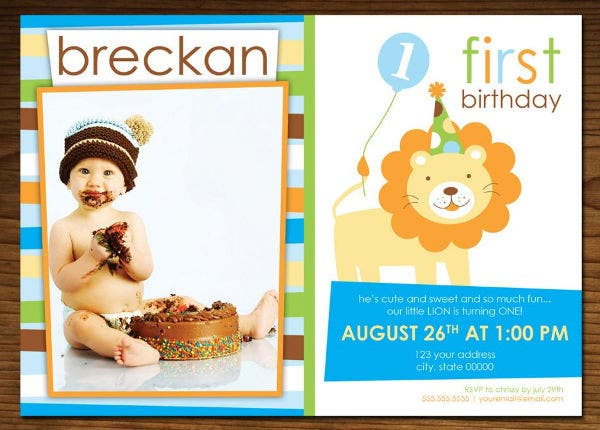 funny kids birthday invitation1