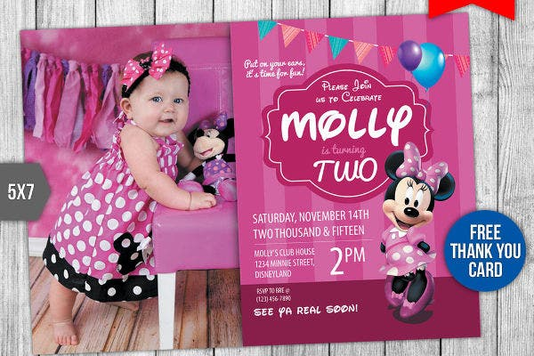 free baby birthday invitation1