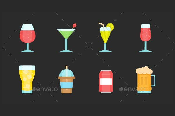 glass-and-beverage-icons