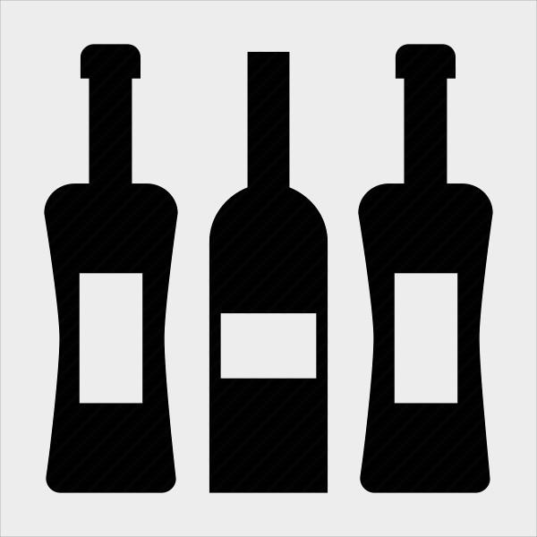 Alcohol Bottle Icons