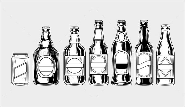 Beer Bottle Icons