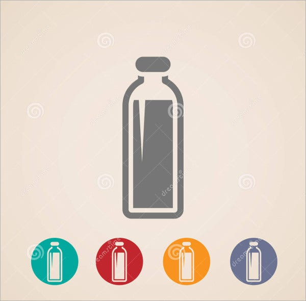 Bottle and Beverage Icons