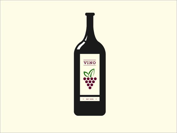 Wine Bottle Icons