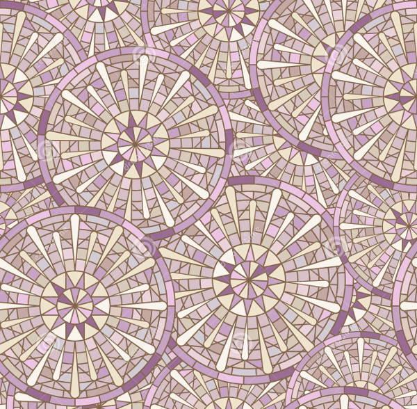 round-mosaic-pattern