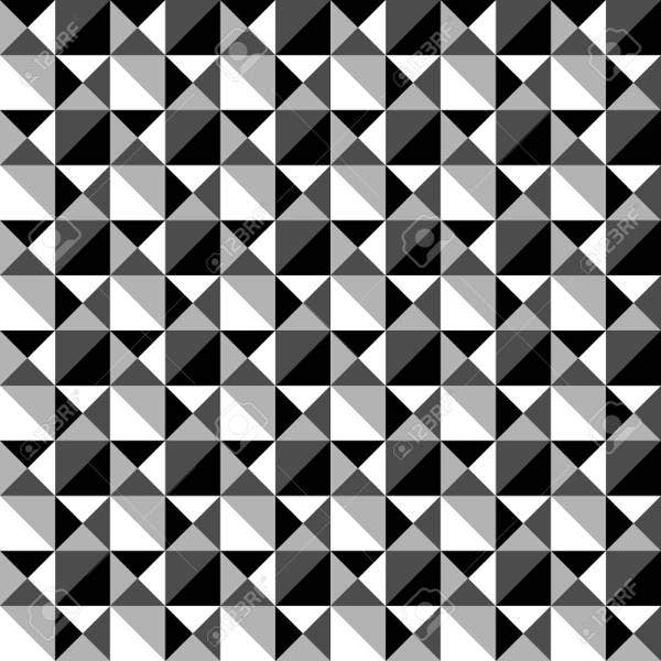 black-and-white-mosaic-pattern