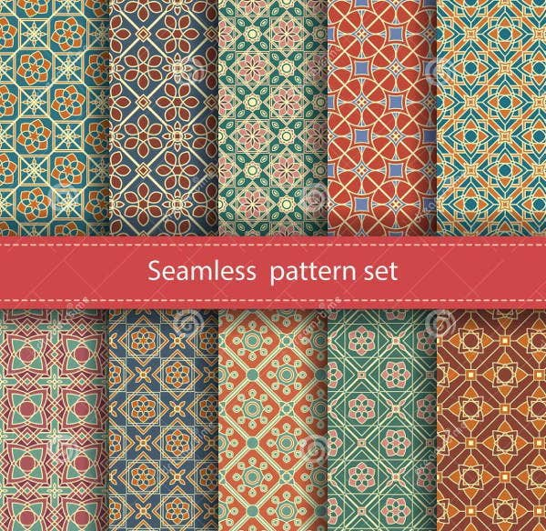 set-of-mosaic-pattern-vector