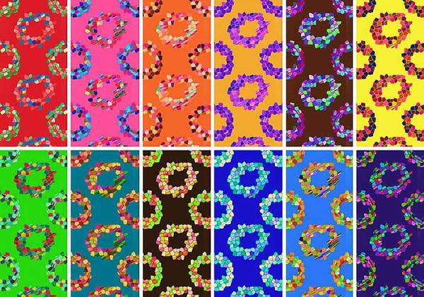 mosaic-rings-pattern