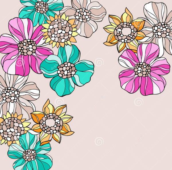 flower-doodle-vector