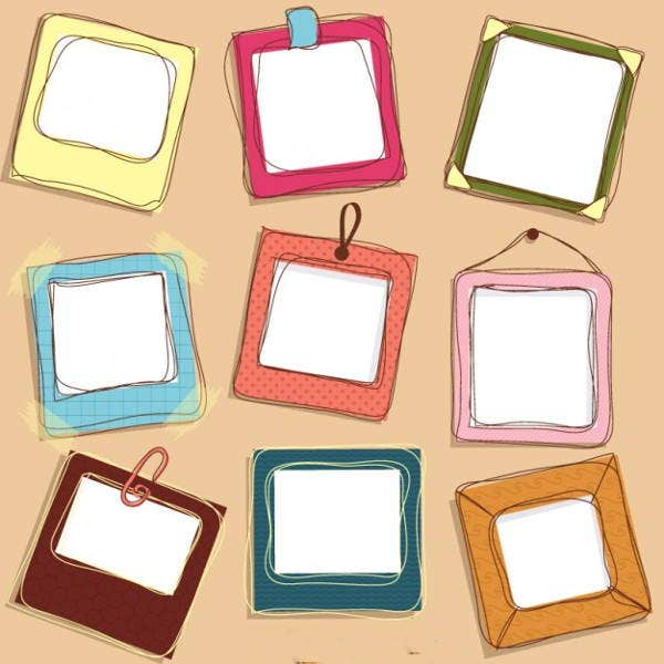 doodle-frames-vector