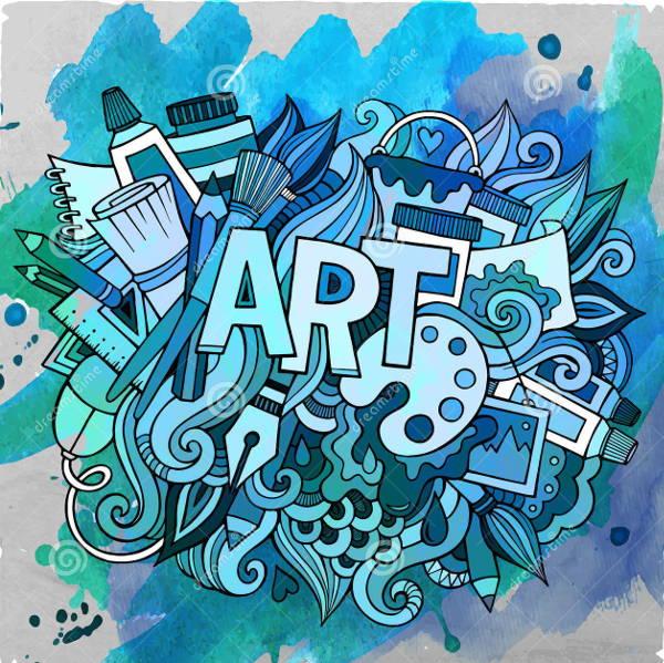 doodle-art-vector
