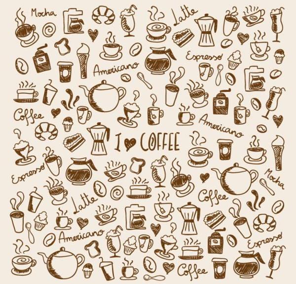 coffee-doodle-vector