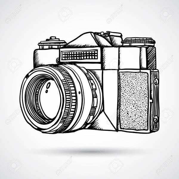 camera-doodle-vector