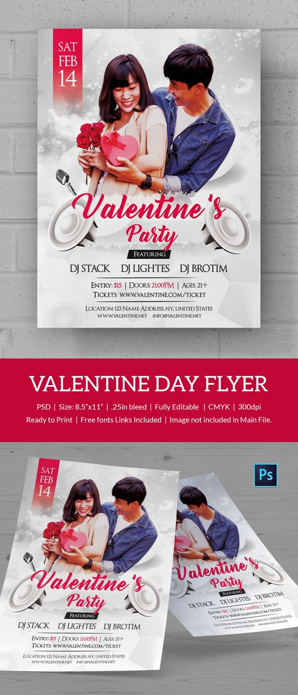 Proposal Valentines Day Flyer
