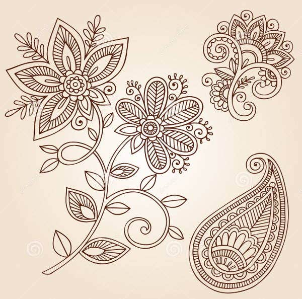 doodle vector design elements